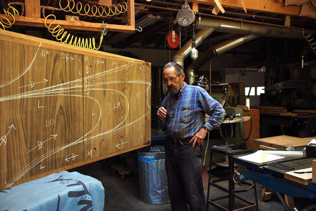 Michael Coffey at work